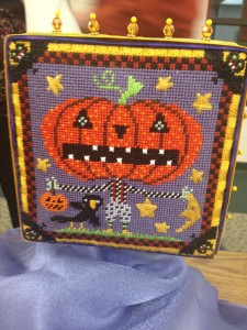 October stitching is fun!