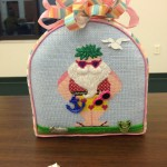 Gloria's finished Seaside Santa!