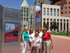 Our members enjoy a day at Denver Art Museum SPUN exhibit!