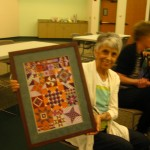 Barb C. shows a finished Galaxy!