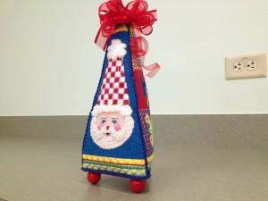 HoHoHo Santa by Debbie Forney